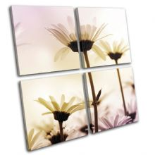 Daisies Flowers Floral - 13-1304(00B)-MP01-LO
